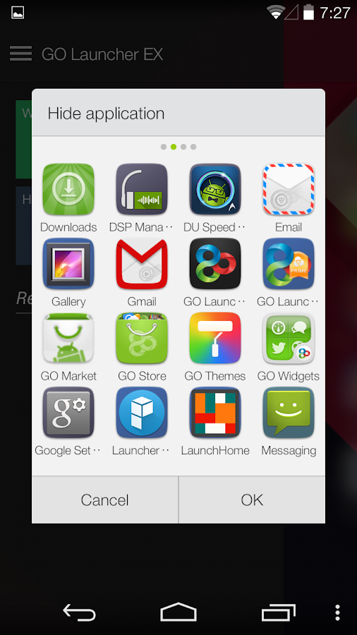 GO Launcher Prime - screenshot