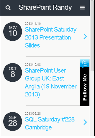 SharePointRandy WordPress Blog