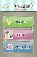 Screenshot of Nauč se dopravní značky [PMQ]