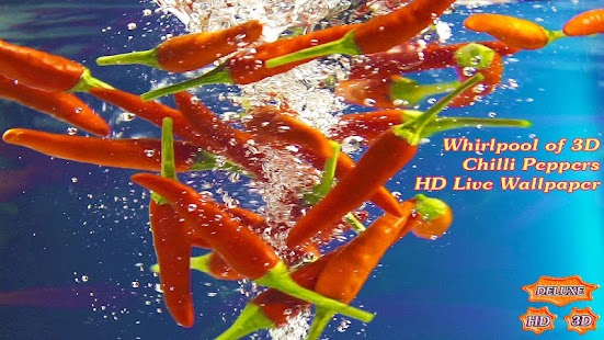 Whirlpool of Chilli Peppers 3D- screenshot thumbnail