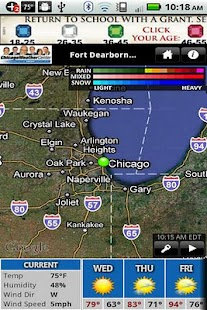 WGN Weather - screenshot thumbnail