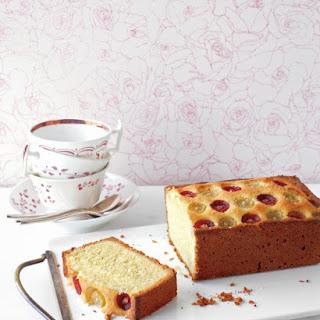 Almond-Grape Tea Cake.