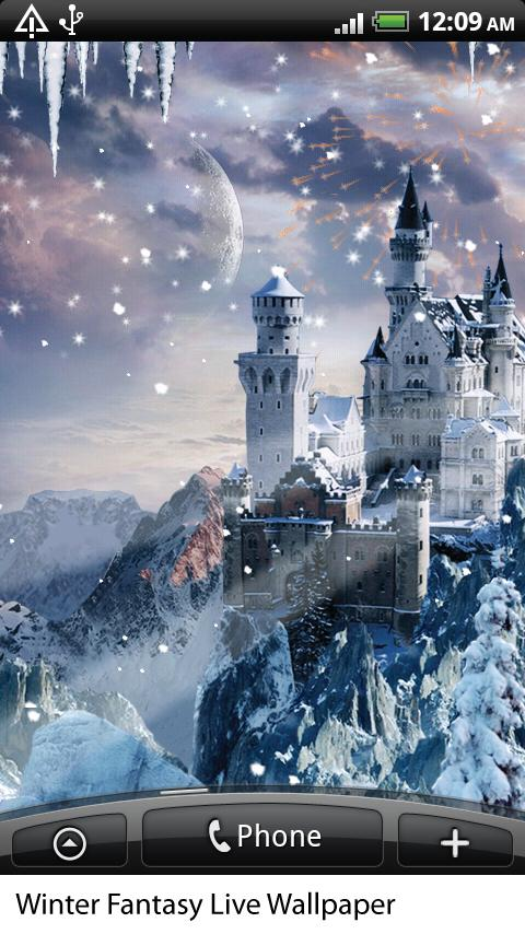 winter fantasy live wallpaper android apps on google play