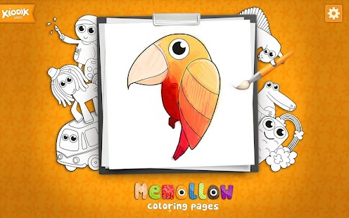 Coloring Pages Memollow - screenshot thumbnail