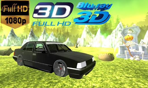 Halloween Car 3D