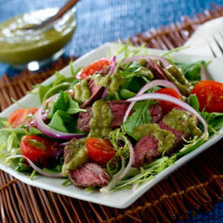 Caribbean Chimichurri Steak Salad.