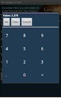 Screenshot of Mortgage Solver