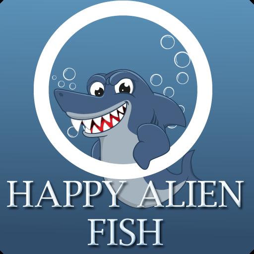 Happy Alien Fish LOGO-APP點子