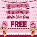 Hidden Object Game Girly Rooms icon