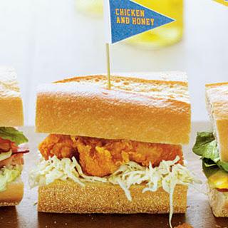 Chicken and Honey Sandwiches.