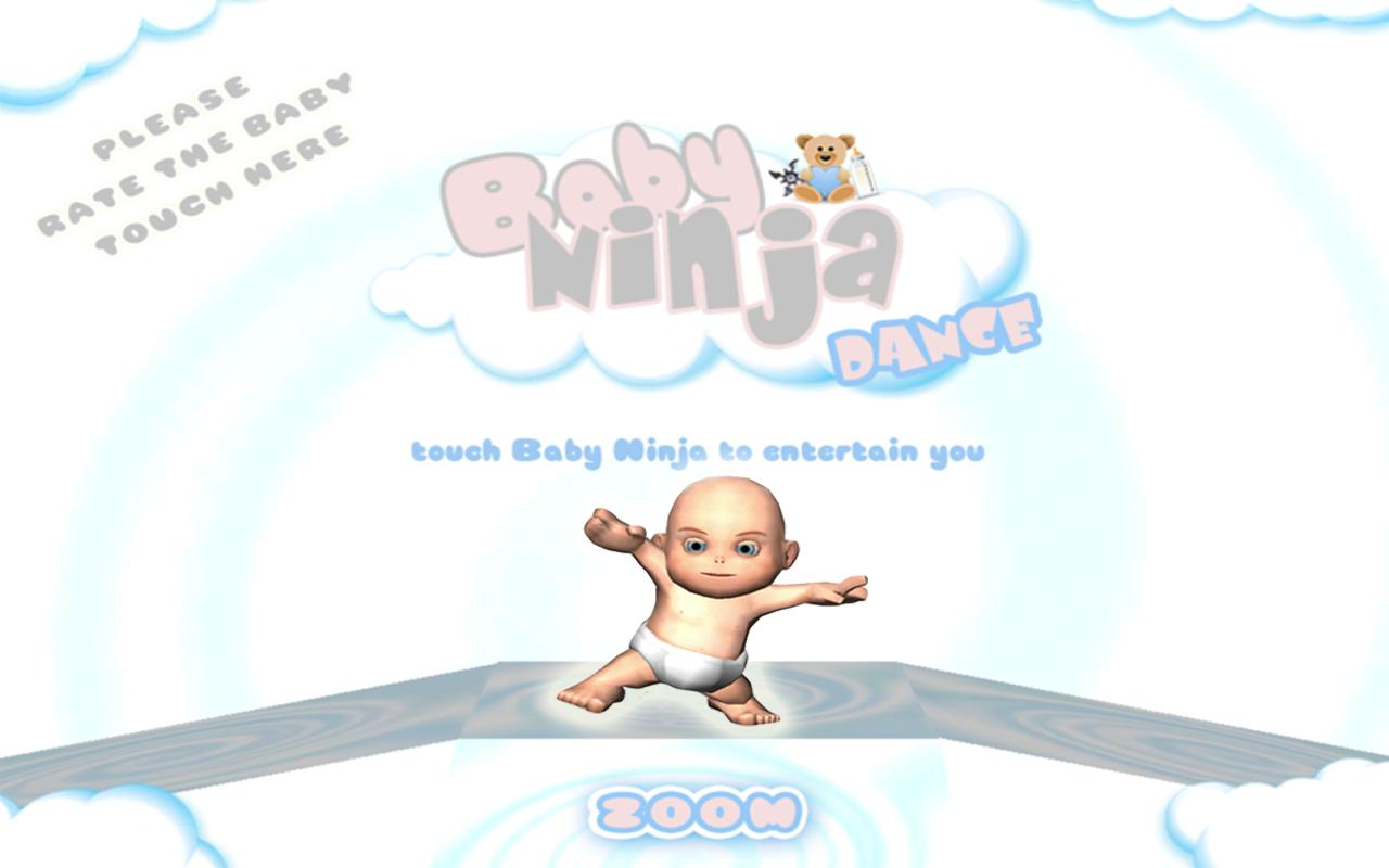 Baby Ninja Dance- screenshot