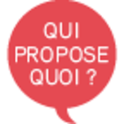 Qui propose quoi (Libération) logo