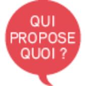Qui propose quoi (Libération)