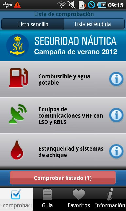 SM. Seguridad Náutica- screenshot