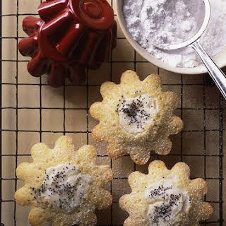 Cream Cheese and Poppy Seed Cakes.
