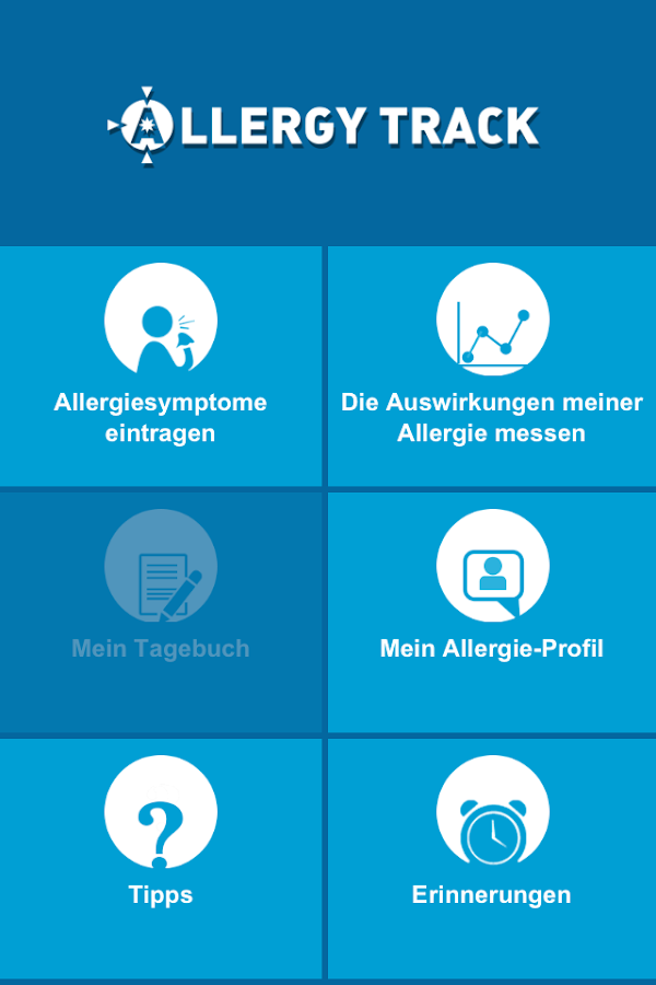 Allergy Track – Screenshot