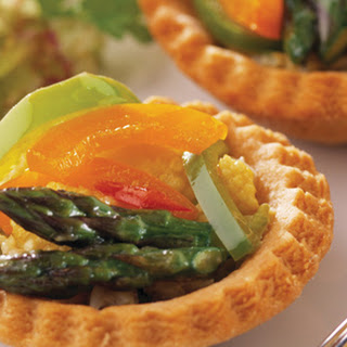 Stir Fry Vegetable Tartlets