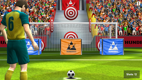 Real Kick Football Goal Soccer- screenshot thumbnail