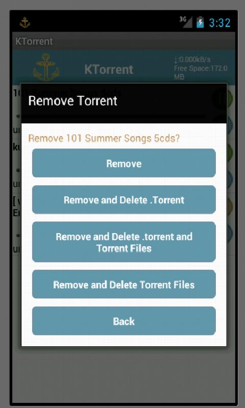 KTorrent - screenshot