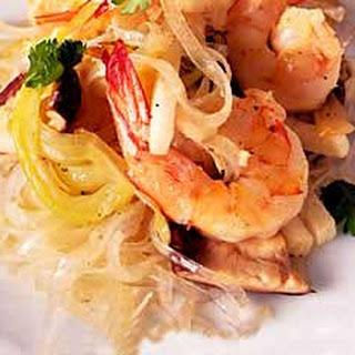 Shrimp and Noodle Stir Fry