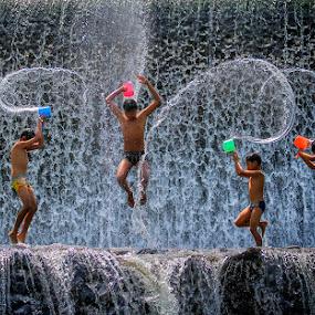 Jump by Indrawan Ekomurtomo - Babies & Children Children Candids ( KidsOfSummer )