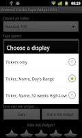 Screenshot of Stocks Tape Widget PRO