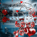 Romantic Kiss Live Wallpaper icon