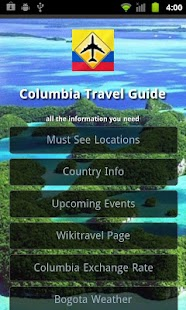 Columbia Travel Guide- screenshot thumbnail