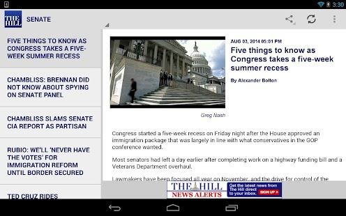 The Hill Tablet- screenshot thumbnail