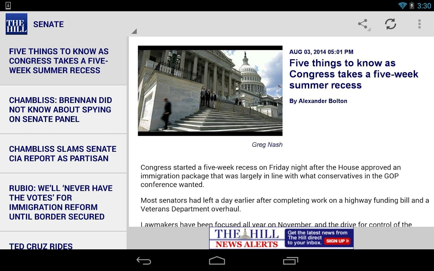 The Hill Tablet- screenshot
