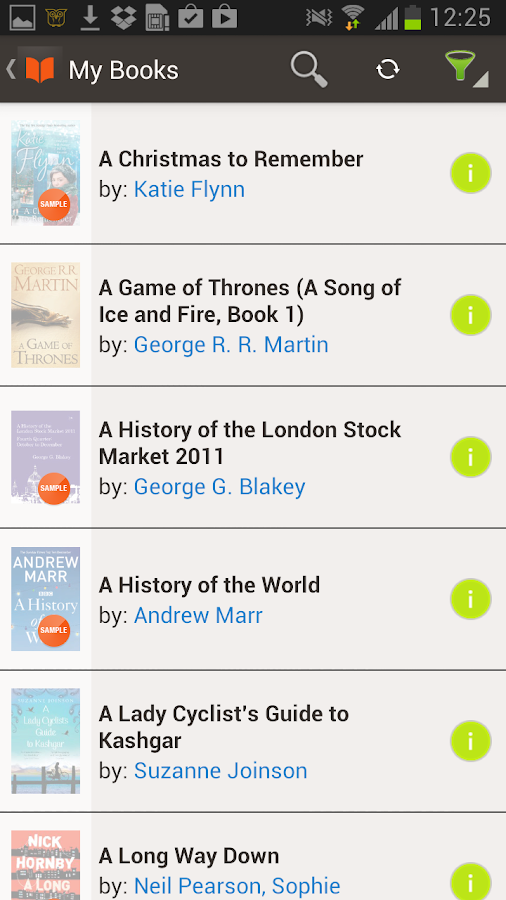 eBooks by Sainsbury's - screenshot