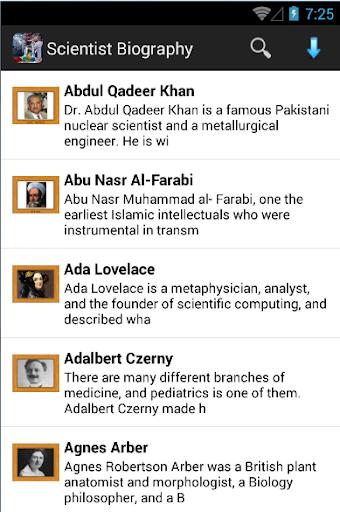 Scientist Biography