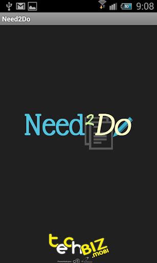 Techbiz 2012 Need2Do