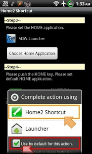 Home2 Shortcut: miniatura de la captura de pantalla