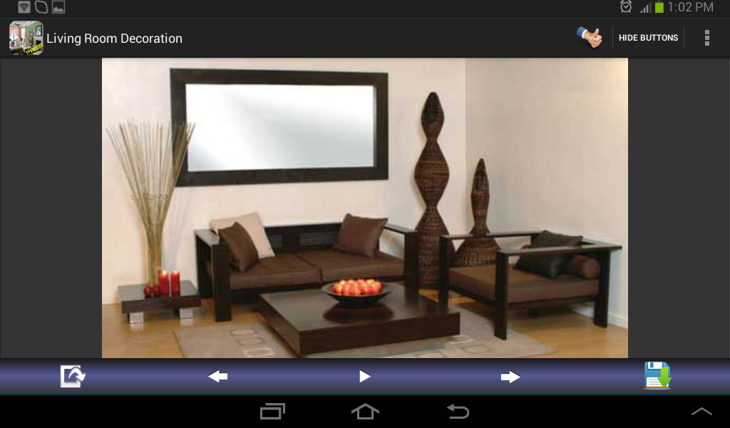 living room decoration designs screenshot - Living Room Decoration Designs
