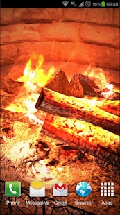 Fireplace 3D Pro lwp- screenshot thumbnail
