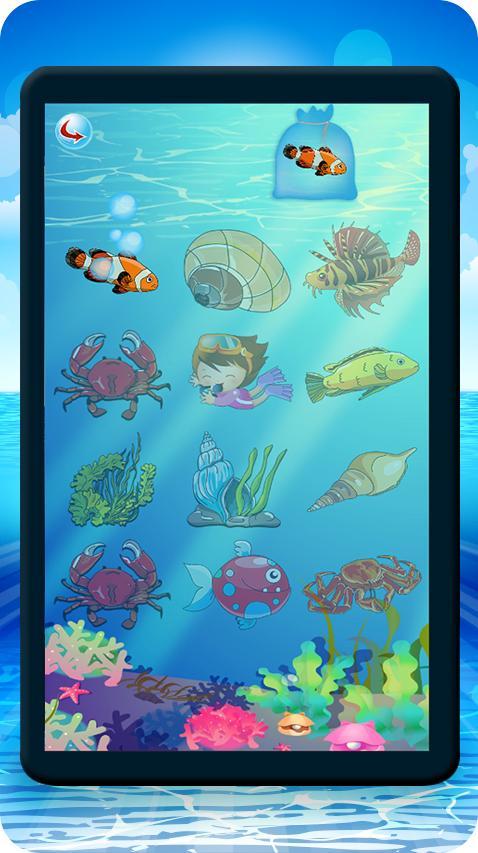 Kids Fishing Free games - screenshot