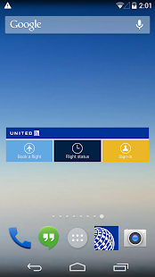 United Airlines- screenshot thumbnail