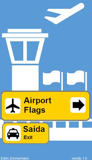 Airport Flags - bandeiras quiz