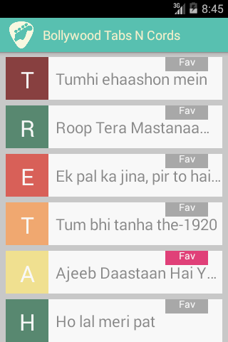 Bollywood Guitar Tabs N cords - Android Apps on Google Play