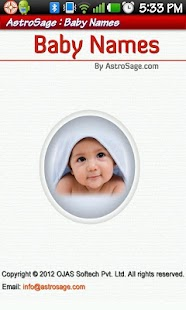 Indian Baby Names- screenshot thumbnail