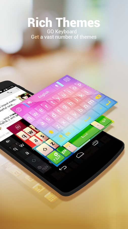 Arabic Language - GO Keyboard screenshot #1