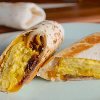 Frozen Breakfast Wraps.