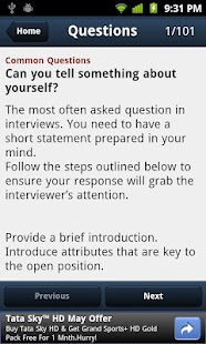 101 HR Interview Questions - screenshot thumbnail