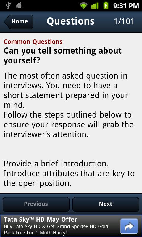 101 HR Interview Questions - screenshot