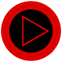 Poweramp skin TRON RED icon