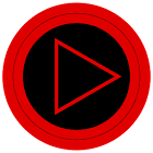 Poweramp skin TRON RED icon