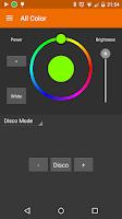 Screenshot of Light Controller White & RGBW