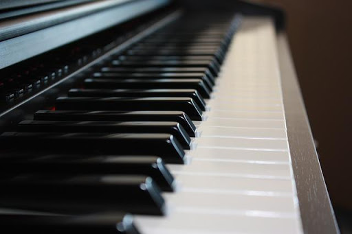 Piano with Labels
