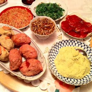 Parsnip and Edamame Hummus